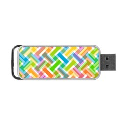 Abstract Pattern Colorful Wallpaper Portable Usb Flash (one Side) by Amaryn4rt