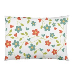 Abstract Vintage Flower Floral Pattern Pillow Case by Amaryn4rt