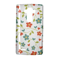 Abstract Vintage Flower Floral Pattern Lg G4 Hardshell Case by Amaryn4rt