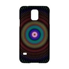 Artskop Kaleidoscope Pattern Ornamen Mantra Samsung Galaxy S5 Hardshell Case  by Amaryn4rt
