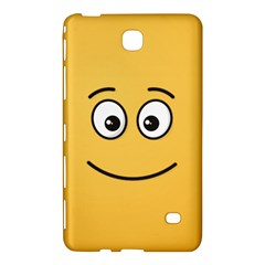 Smiling Face with Open Eyes Samsung Galaxy Tab 4 (7 ) Hardshell Case  by sifis