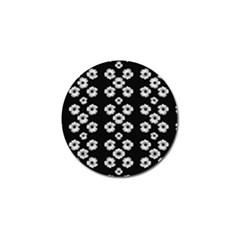 Dark Floral Golf Ball Marker (10 Pack) by dflcprints