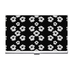 Dark Floral Business Card Holders by dflcprints