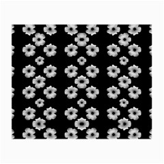 Dark Floral Small Glasses Cloth (2 Side) by dflcprints