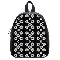Dark Floral School Bags (small)  by dflcprints