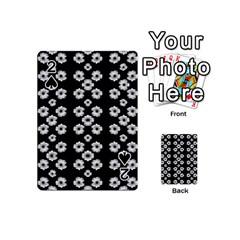 Dark Floral Playing Cards 54 (mini)  by dflcprints