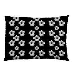 Dark Floral Pillow Case (two Sides) by dflcprints