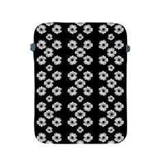 Dark Floral Apple Ipad 2/3/4 Protective Soft Cases by dflcprints