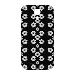 Dark Floral Samsung Galaxy S4 I9500/i9505  Hardshell Back Case by dflcprints