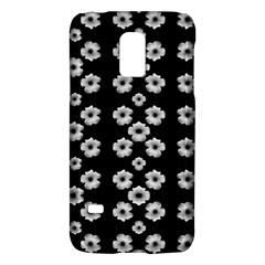 Dark Floral Galaxy S5 Mini by dflcprints