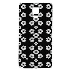 Dark Floral Galaxy Note 4 Back Case by dflcprints