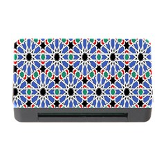Background Pattern Geometric Memory Card Reader With Cf