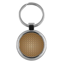 Background Seamless Repetition Key Chains (round)