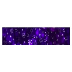 Bokeh Background Texture Stars Satin Scarf (oblong) by Amaryn4rt