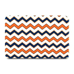 Chevron Party Pattern Stripes Plate Mats by Amaryn4rt