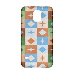 Fabric Textile Textures Cubes Samsung Galaxy S5 Hardshell Case  by Amaryn4rt