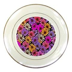 Floral Pattern Porcelain Plates by Amaryn4rt