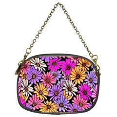 Floral Pattern Chain Purses (two Sides)  by Amaryn4rt