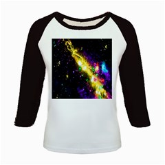 Galaxy Deep Space Space Universe Stars Nebula Kids Baseball Jerseys