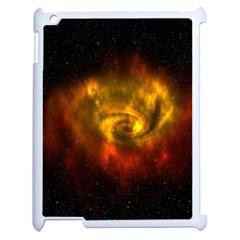 Galaxy Nebula Space Cosmos Universe Fantasy Apple Ipad 2 Case (white) by Amaryn4rt