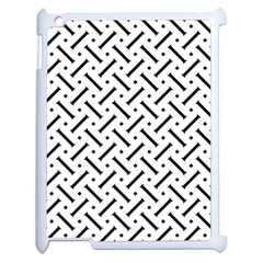 Geometric Pattern Apple Ipad 2 Case (white) by Amaryn4rt