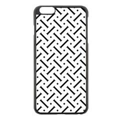 Geometric Pattern Apple Iphone 6 Plus/6s Plus Black Enamel Case by Amaryn4rt