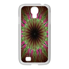 Julian Star Star Fun Green Violet Samsung Galaxy S4 I9500/ I9505 Case (white) by Amaryn4rt