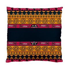 Pattern Ornaments Africa Safari Summer Graphic Standard Cushion Case (two Sides) by Amaryn4rt