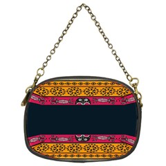 Pattern Ornaments Africa Safari Summer Graphic Chain Purses (two Sides)  by Amaryn4rt
