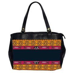 Pattern Ornaments Africa Safari Summer Graphic Office Handbags (2 Sides)  by Amaryn4rt