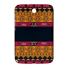 Pattern Ornaments Africa Safari Summer Graphic Samsung Galaxy Note 8 0 N5100 Hardshell Case  by Amaryn4rt
