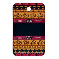 Pattern Ornaments Africa Safari Summer Graphic Samsung Galaxy Tab 3 (7 ) P3200 Hardshell Case  by Amaryn4rt
