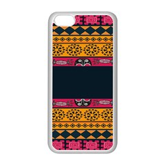 Pattern Ornaments Africa Safari Summer Graphic Apple Iphone 5c Seamless Case (white) by Amaryn4rt