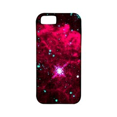 Pistol Star And Nebula Apple Iphone 5 Classic Hardshell Case (pc+silicone) by Amaryn4rt