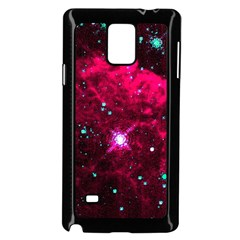Pistol Star And Nebula Samsung Galaxy Note 4 Case (black)