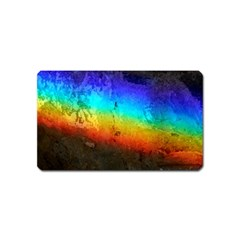 Rainbow Color Prism Colors Magnet (name Card) by Amaryn4rt