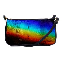 Rainbow Color Prism Colors Shoulder Clutch Bags by Amaryn4rt