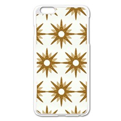 Seamless Repeating Tiling Tileable Apple Iphone 6 Plus/6s Plus Enamel White Case by Amaryn4rt