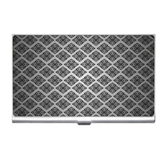 Silver The Background Business Card Holders