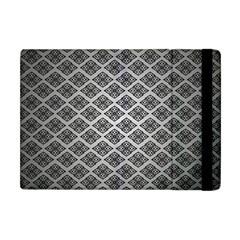 Silver The Background Apple Ipad Mini Flip Case