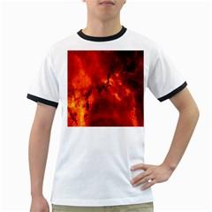 Star Clusters Rosette Nebula Star Ringer T Shirts