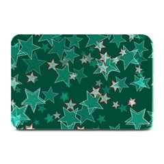 Star Seamless Tile Background Abstract Plate Mats by Amaryn4rt