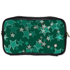 Star Seamless Tile Background Abstract Toiletries Bags by Amaryn4rt