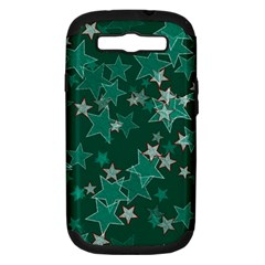 Star Seamless Tile Background Abstract Samsung Galaxy S Iii Hardshell Case (pc+silicone) by Amaryn4rt