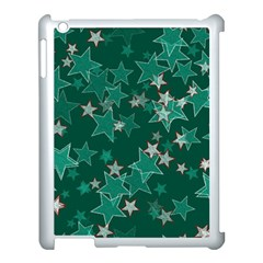 Star Seamless Tile Background Abstract Apple Ipad 3/4 Case (white) by Amaryn4rt
