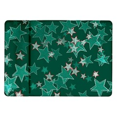 Star Seamless Tile Background Abstract Samsung Galaxy Tab 10 1  P7500 Flip Case by Amaryn4rt
