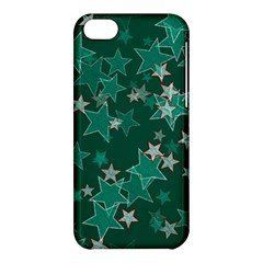 Star Seamless Tile Background Abstract Apple Iphone 5c Hardshell Case by Amaryn4rt