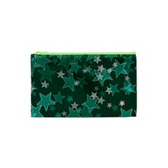 Star Seamless Tile Background Abstract Cosmetic Bag (xs) by Amaryn4rt