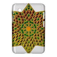 Star Pattern Tile Background Image Samsung Galaxy Tab 2 (7 ) P3100 Hardshell Case  by Amaryn4rt