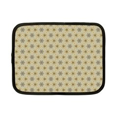 Star Basket Pattern Basket Pattern Netbook Case (small)  by Amaryn4rt